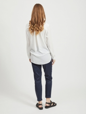 VILUCY L-S SHIRT - NOOS Snow White