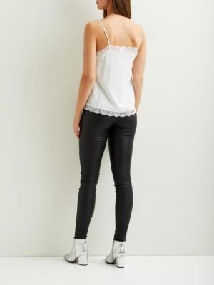 VICAVA LACE SINGLET - NOOS Cloud Dancer
