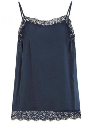 VICAVA LACE SINGLET - NOOS Total Eclipse