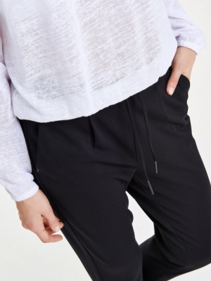 onlPOPTRASH EASY COLOUR PANT P Black
