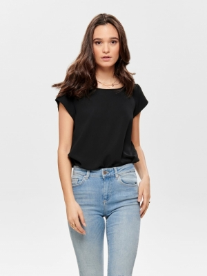 onlVIC S-S SOLID TOP NOOS WVN Black