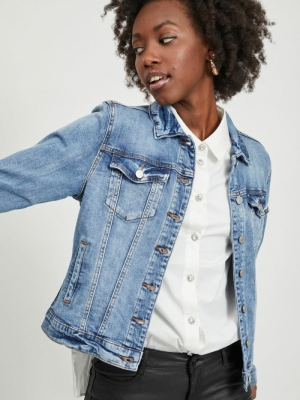 VISHOW DENIM JACKET - NOOS Medium Blue Den