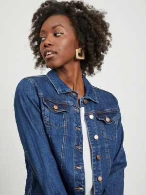 VISHOW DENIM JACKET - NOOS Medium Blue vin