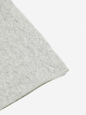 VITOBI KNIT SCARF-NOOS Light Grey Mela