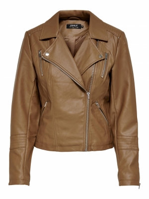 onlGEMMA FAUX LEATHER BIKER OT logo
