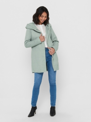 ONLSEDONA LIGHT COAT OTW NOOS Chinois Green/M