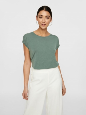 VMAVA PLAIN SS TOP GA NOOS Laurel Wreath