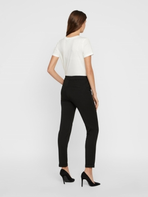 VMMAYA MR LOOSE SOLID PANT NOO Black