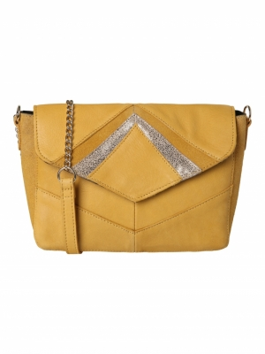 PCHENRIETTE LEATHER CROSS BODY logo