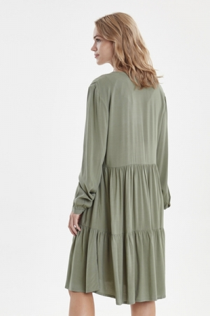BYISOLE DRESS2 - Sea Green