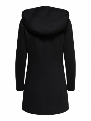 ONLSEDONA LIGHT COAT OTW NOOS Black