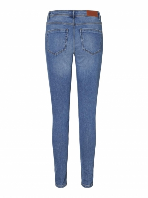 VMTANYA MR S PIPING JEANS VI34 Medium Blue Den
