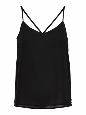 ONLMOON  SL TOP NOOS WVN Black