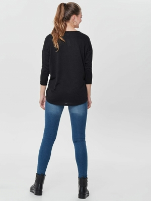 ONLELCOS 4-5 SOLID TOP JRS NOO Black
