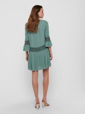 ONLTYRA 3-4 FLARE SHORT DRESS chinois Green