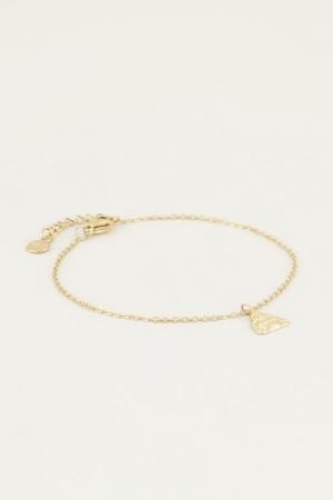 Moments bracelet buddha Goud O goud