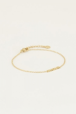 Moments bracelet amour Goud ON goud