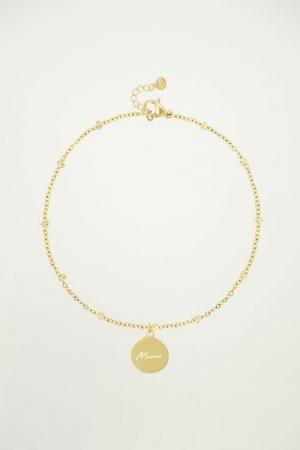 Bracelet Mama Goud ONESIZE goud