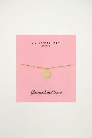 Bracelet Mama Goud ONESIZE logo