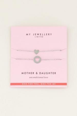 Mother & Daughter Bracelet Zil logo