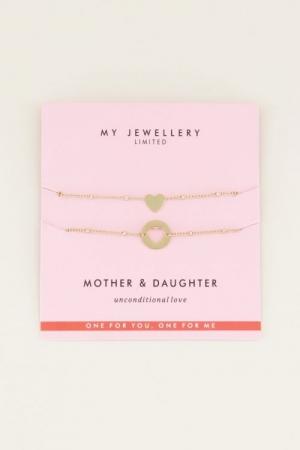 Mother & Daughter Bracelet Gou logo