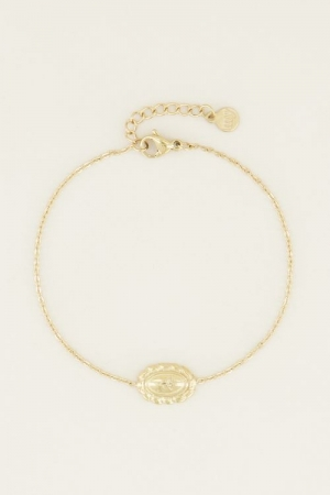 Moments bracelet vintage rose logo