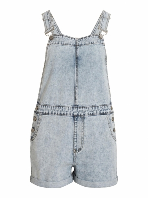 VIVALLERY DENIM PLAYSUIT logo