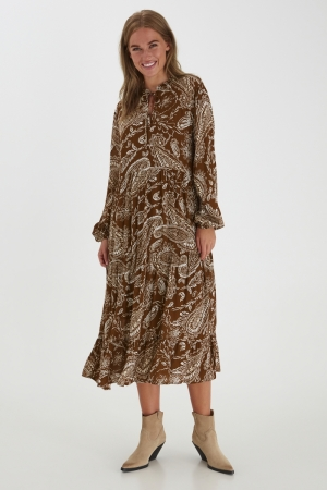 BYJOSYA DRESS - Brown
