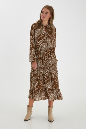 BYJOSYA DRESS - Brown