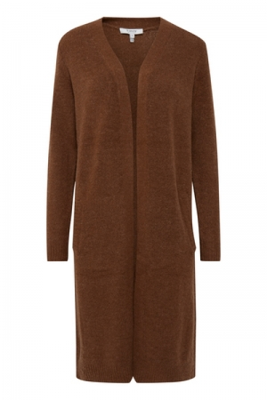 BYMIRELLE LONG CARDIGAN 3 - Brown