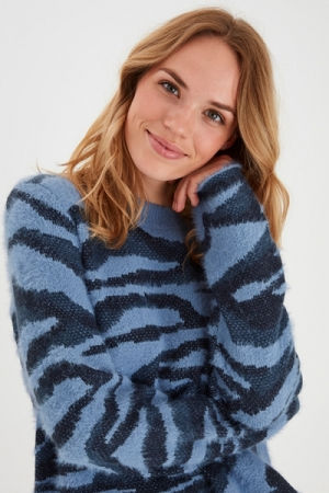 BYNOLLE JUMPER - Blue