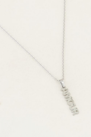 Ketting amour bedel Zilver