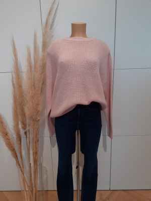VMIMAGINE LS O-NECK BLOUSE VMA Sepia Rose/W. W