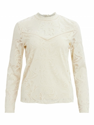 VISTASIA L-S LACE TOP-FAV logo