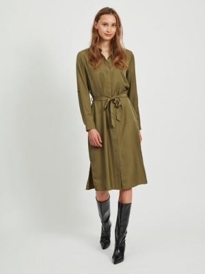 OBJEILEEN L-S SHIRT DRESS NOOS logo