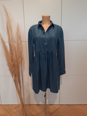 VMLIBBIE LS SHIRT DRESS GA COL Medium Blue Den