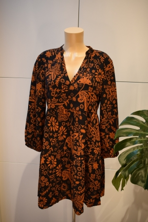 ONLNOVA LUX THEA DRESS AOP WVN logo