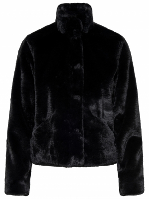 ONLVIDA FAUX FUR JACKET OTW NO logo