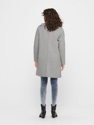 ONLCARRIE BONDED COAT OTW NOOS Light Grey Mela