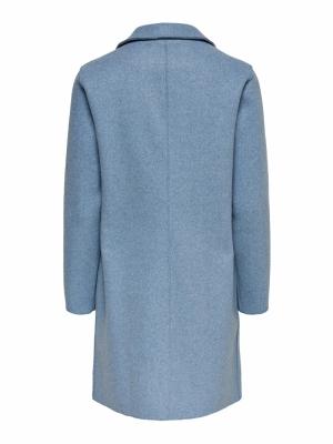 ONLCARRIE BONDED COAT OTW NOOS Kentucky Blue/W