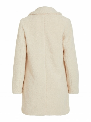 VILIOSI TEDDY COAT-SU - NOOS Birch