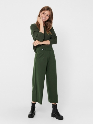 JDYGEGGO NEW ANCLE PANTS JRS N Forest Night/BL