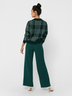 JDYGISELLE WIDE PANTS JRS Atlantic Deep