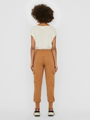 VMMERCY NW SWEAT PANT VMA Tobacco Brown