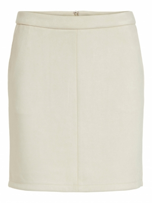 VIFADDY RW SKIRT - FAV Birch