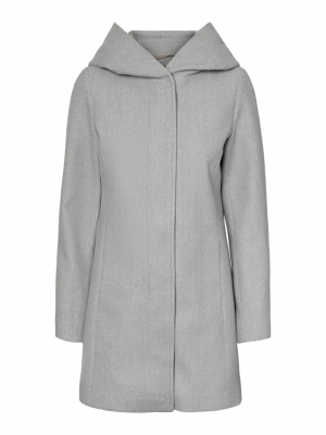 VMDAFNEDORA 3-4 JACKET NOOS Light Grey Mela