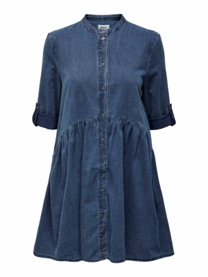 ONLCHICAGO  LIFE 3-4 DNM DRESS Medium Blue Den