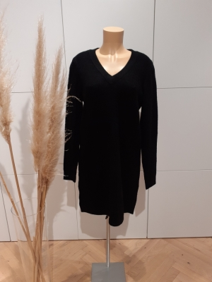 PCELLEN LS V-NECK KNIT DRESS N logo