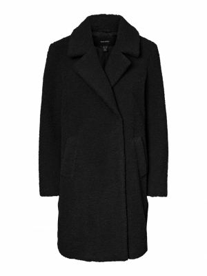 VMLUCINDA 3-4 TEDDY JACKET Black