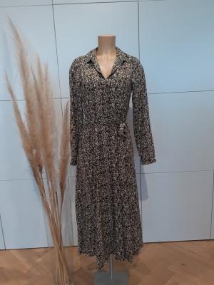 VMJORDIN 3-4 SHIRT DRESS EXP L Ivy Green/FLOWE